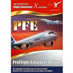 برنامه (Pro Flight Emulator Deluxe (PFE- برنامه Pro Flight Emulator Deluxe
